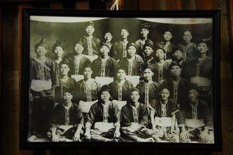 波の上宮300年祭奉納綱挽きの写真