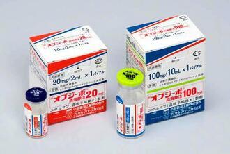 がん免疫治療薬「オプジーボ」