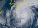 台風21号(22日午前10時現在、ひまわり8号リアルタイムwebから)