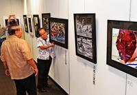 「表現の世界楽しんで」 写真連盟展、62点を展示 タイムスギャラリーで4日まで