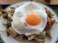 今日もがっつり!運転手メシ(292)名護市辺野古の「まるみつ食堂」でおかず定食を食べたの巻