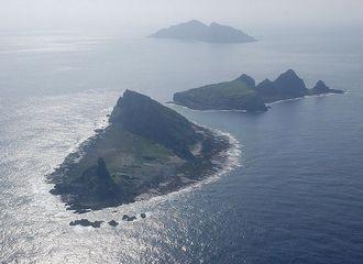 尖閣諸島(写真:沖縄タイムス社)