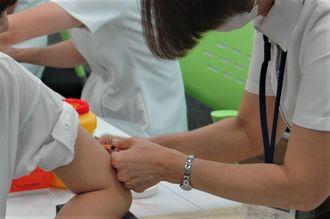 (資料写真)風疹の予防接種