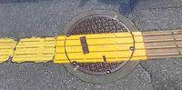 点字ブロックつながった 沖縄「問題あり」歩道、98%改善