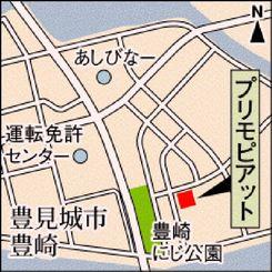 プリモピアットの地図