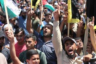 パレスチナ人に怒りと諦め広がる イスラエル国民は歓迎 | 共同通信 ...