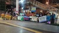 辺野古強制捜査に抗議 大阪「安倍政権の弾圧エスカレート」