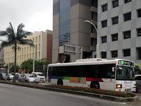 台風18号:バス・モノレールは始発から運行 学校も通常通り