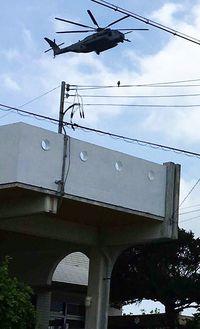 市政点検 宜野湾市長選(1)普天間飛行場 夜間騒音被害が激増