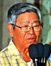 「わが人生に悔いなし」 沖縄4区の仲里利信さん、勇退表明 衆院選2017
