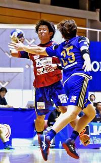 コラソン、初戦黒星 ハンドボール・東アジアクラブ選手権 沖縄で開幕