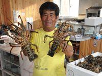 イセエビ、外国客に人気で高騰 沖縄県内取扱高116倍 1キロ4215円 8年前の倍に
