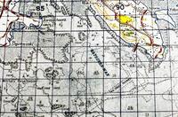 勝連沖3滑走路計画か 米軍1968年発行の地図に記載 榕樹書林が復刻「研究活用を」