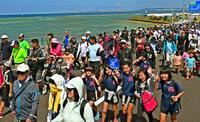 【動画あり】開通目前、最初で最後! 沖縄・浦添「西海岸道路」走って歩いて満喫