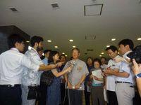地位協定改定と基地整理縮小を要請 沖縄県軍転協