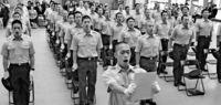 消防学校入校式 訓練に54人決意/中城