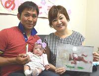 261グラム生まれの寧々ちゃん、健やかに成長3290グラムへ 沖縄・金城親子、笑顔の退院