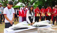明和津波から防災学ぶ/海外の若者ら 石垣でツアー/きょう高校生島サミット開幕