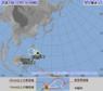 台風26号が発生 フィリピンの東