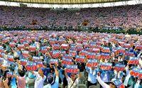 【2015沖縄十大ニュース】知事と政府 対立激化