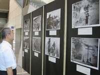 東京弁護士会が沖縄戦写真展 「共謀罪」「安保法制」「辺野古」考えて 24日まで