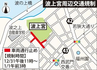 波上宮周辺交通規制