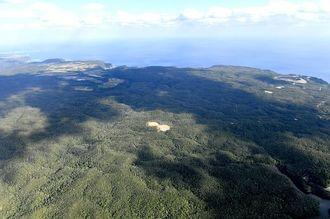 (資料写真)米軍北部訓練場のヘリパッド(着陸帯)N1地区