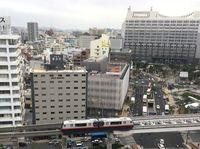 台風7号:沖縄のバスとモノレールは通常運行