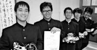 八重山高ロボコンV/県内31チーム出場 軽量化で成果