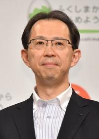 福島県知事が再選出馬表明 内堀氏「復興へ挑戦」