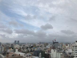 少し肌寒い1日でした。明日は雨の予報です。傘をお忘れなく