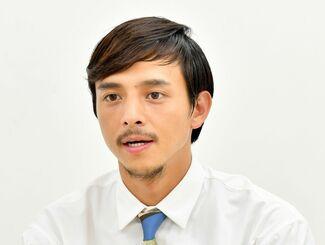 満島真之介さん(2018年7月撮影)