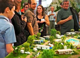 フランスのリヨンにあるアニメーション模型展示館「ミニワールド」(同施設のフェイスブックから)