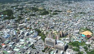 沖縄市街(資料写真)