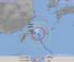 台風18号の進路予想図・24時間予報(気象庁HPより)