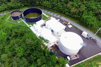 牛のふん尿が電気に 沖縄県内初、八重瀬町が売電