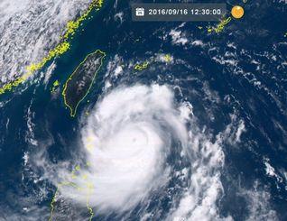NICT気象衛星ひまわり8号リアルタイムWebがとらえた台風16号