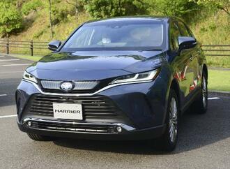 トヨタ自動車が全面改良し発売した新型「ハリアー」=2020年6月