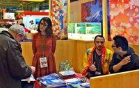 沖縄観光に関心 パリで国際旅行博