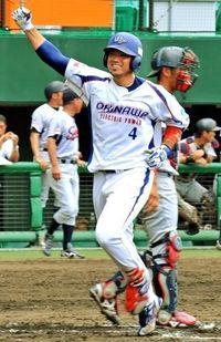 沖縄電力、勝負を決めた2本の本塁打