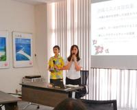 学生企画の沖縄コスメ作り体験 商品化され9月販売