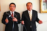 海水を手軽に飲用水へ 静岡の企業、防災用品や漁業で活用PR