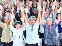 屋良朝博氏が当選確実 衆院沖縄3区補選 辺野古新基地に反対訴え
