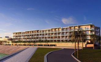 2018年夏に開業するホテルのイメージ(オリックス不動産提供)