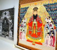 復元に3年、当時の彩色で鮮やかに 琉球国王の肖像画、きょうから首里城で公開