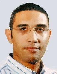 沖縄で公民館の重要性を学んだモハメッド・アブデルミギード・サイードさん(提供)