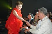 加藤登紀子さん、サハリンで公演 ロシアに響く「百万本のバラ」