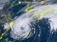 台風18号:17日に九州上陸か 太平洋側で大雨の恐れ