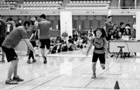 [きょうナニある?]/話題/子らスポーツの魅力学ぶ/JALが能力測定会