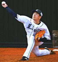 昨季リーグ最多勝・西武のエース多和田真三郎 直球強化へ指を鍛える